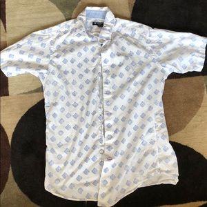 Cremiux Short Sleeve Button up